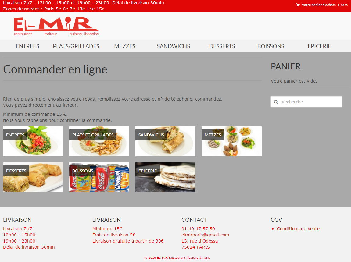 Exemple e-commerce